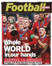 World Club Champions Souvenir Special - Liverpool Echo 23rd December 2019